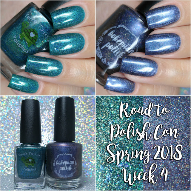 Road to Polish Con Spring 2018 | Week 4 Turtle Tootsie Polish and Bohemian Polish