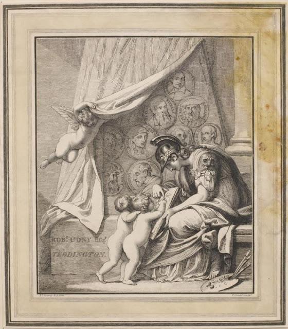 Minerva instructing cherubs in the art of painting
