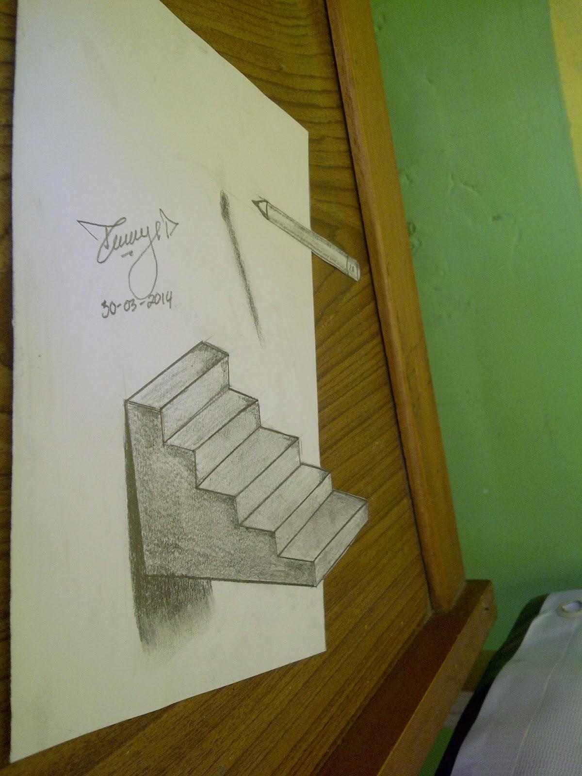 Lukisan pensil 3d tommy pradana