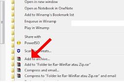 Cara Mudah Mengubah File Folder Menjadi Rar/Winrar atau Zip