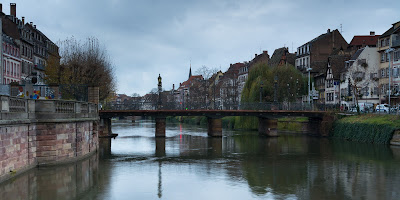 Bridge Over L'Ill, Strasbourg