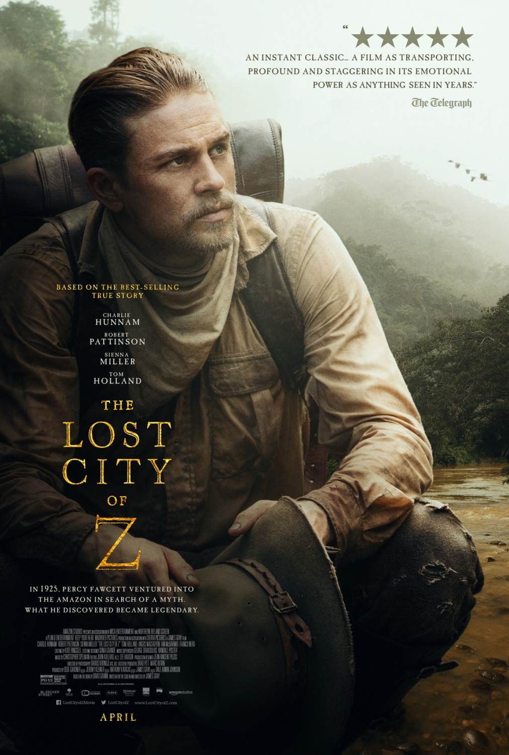 The Lost City of Z (2016) Movie Download In 300MB – Worldfree4u