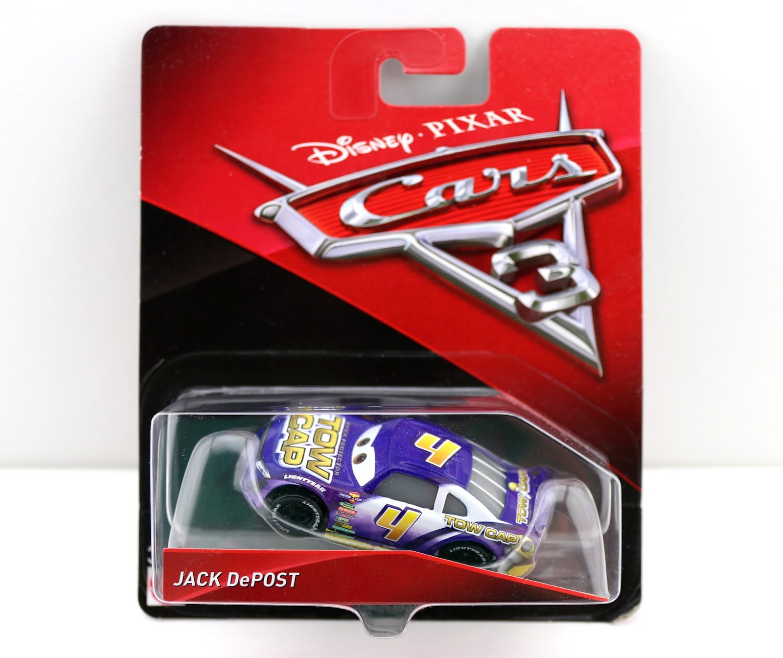 Cars 3 mattel Jack DePost