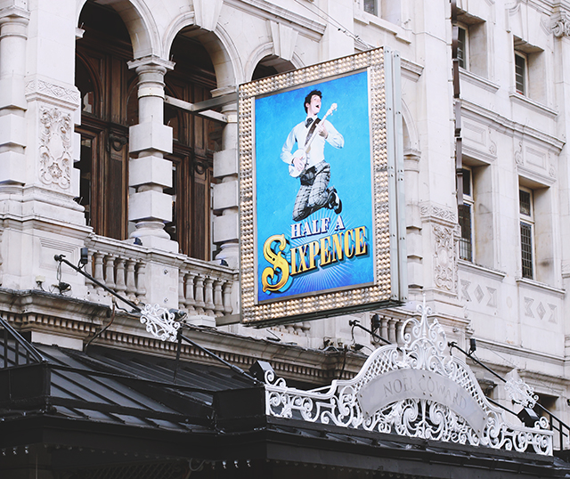 Half a Sixpence Noel Coward Theatre