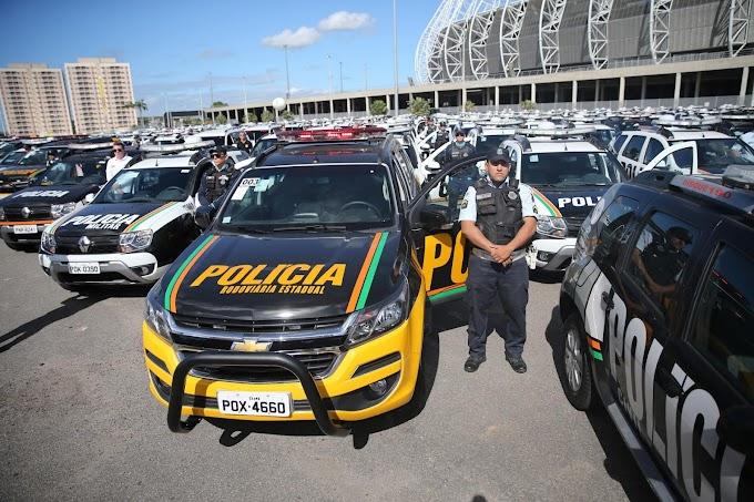 Camilo Santana anuncia 600 novas viaturas para a Polícia do Ceará