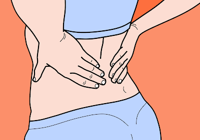 Symptoms of back pain