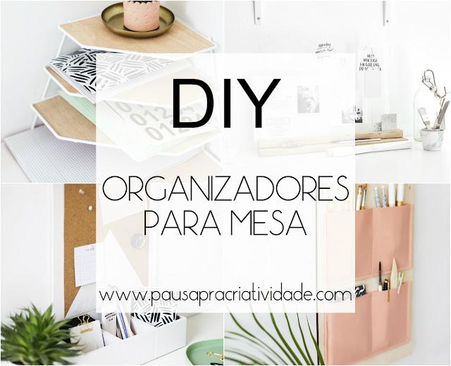 DIY organizadores para mesa