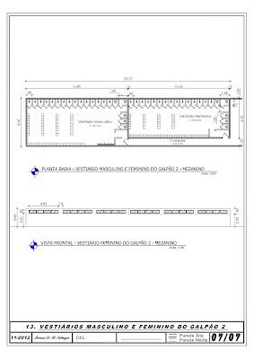 c858cf559 Vestiário Feminino e Masculino - Industrial