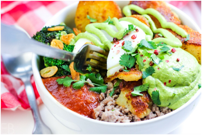 Mexican Crispy Potato Bowls #food