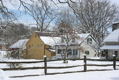 Landis-Valley-Museum-with-snow-March-2018
