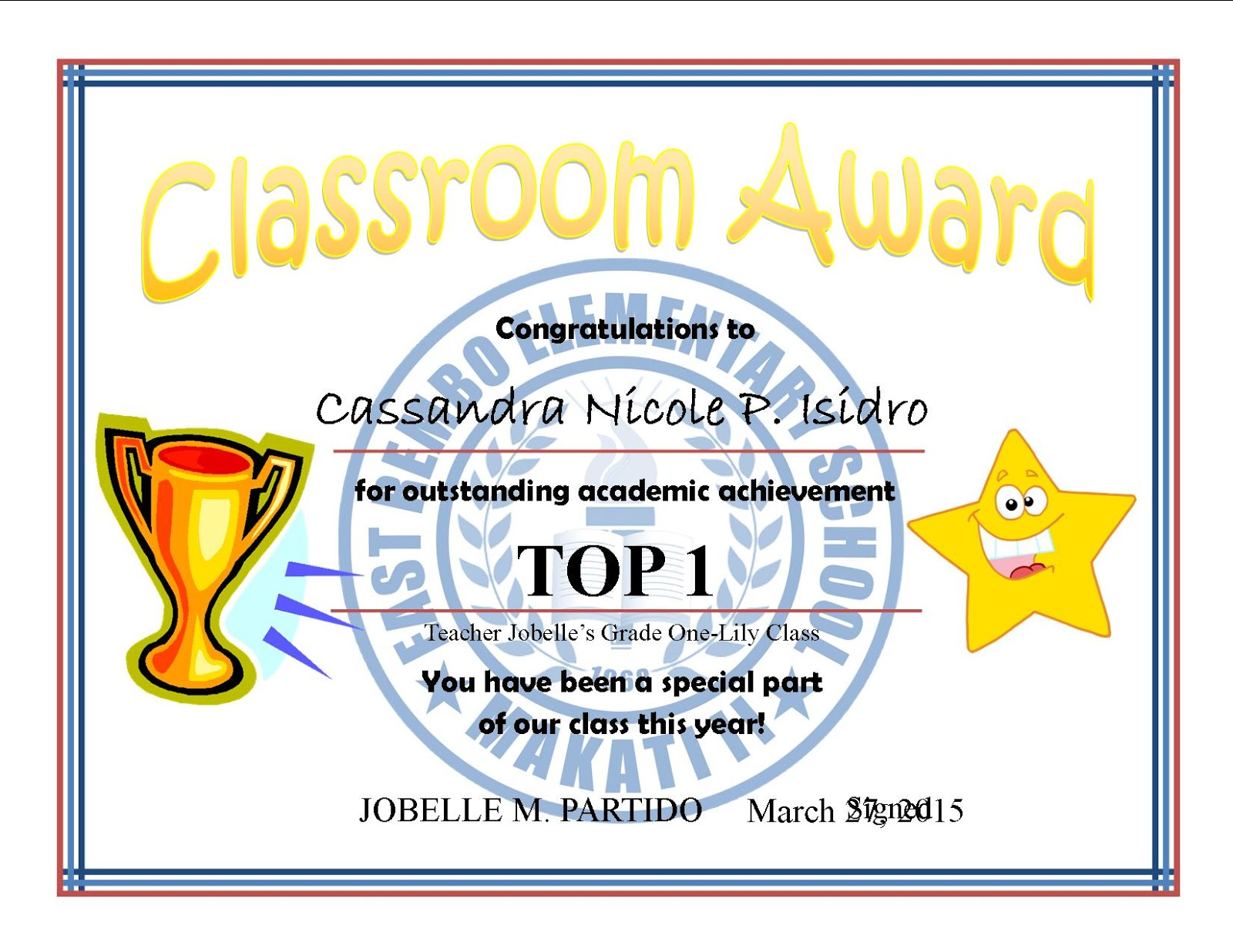 Top 10 cert subject achiever template samples deped lps top 10 certificate subject achiever template samples yelopaper Images
