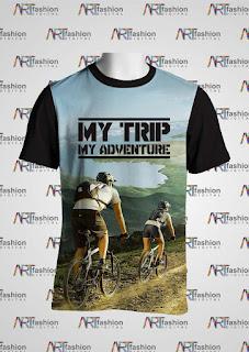 Kaos Oblong My Trip My Adventure Spesial Bike