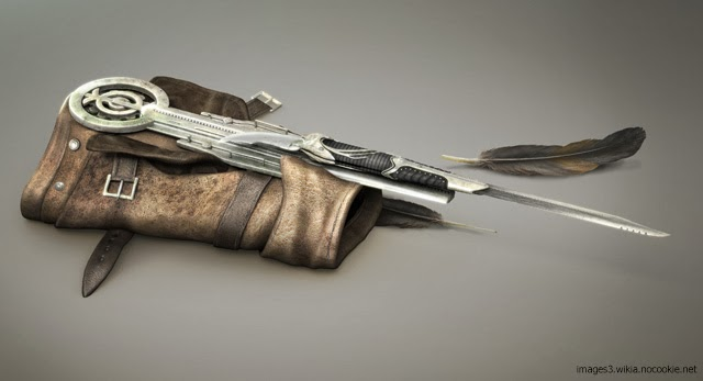 A Replica Of The Popular Assassin S Creed Hidden Blade By Man At