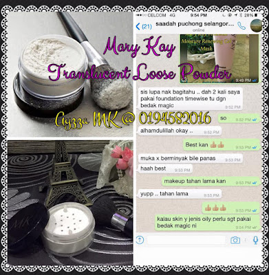 Skin Look Flawless and glowing with foundation & Translucent Loose Powder Mary Kay