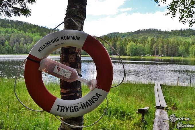 Kramfors - rezerwat przyrody Icktjärnsberget