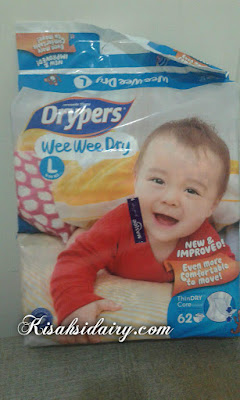 Drypers Wee Wee Dry New &  Improved Terbaru