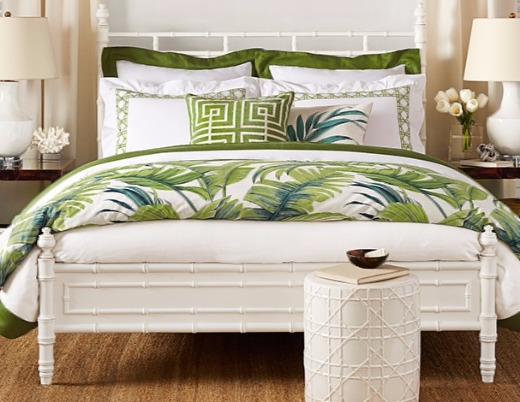 Tropical Green Bedding
