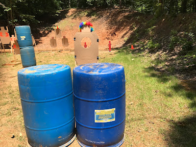 Musings Over a Barrel: Fairfax IDPA Match