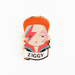 Ziggy Brooch