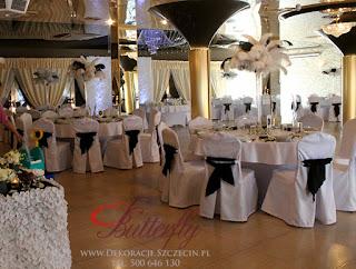 dekoracje ślubne Szczecin Butterfly