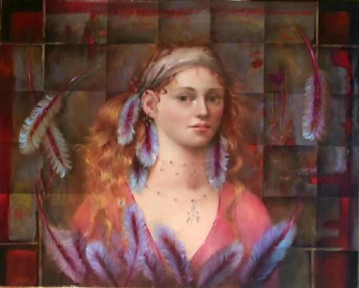 Рельефные картины. Loretta Fasan