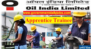 Oil Indian Limited, Guwahati Vacancy for 190 Posts of Apprenticeship Trainee