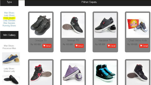Produk Ardiles Kategori Kids Shoes