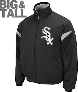 Big and Tall Chicago White Sox Jacket