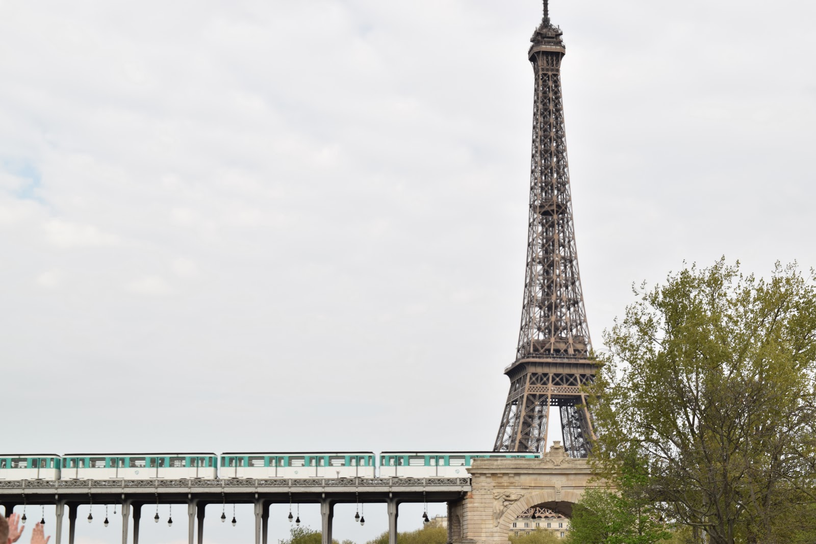 Paris Eiffel tower train