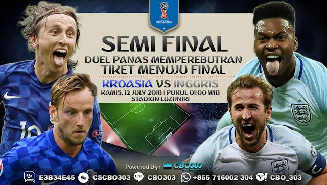Prediksi Bola Piala Dunia 2018 Croatia VS England 12 July 2018