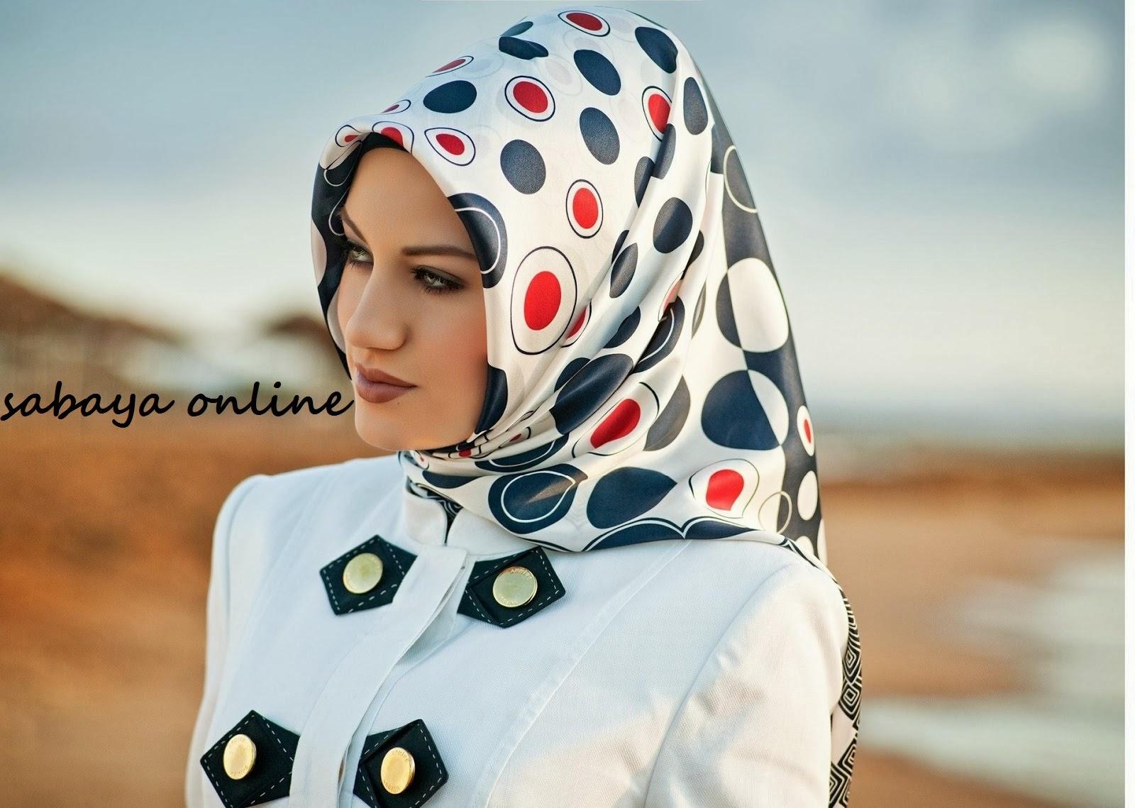 ff0624c52 لفات الحجاب حسب شكل الوجه - طريقة لف الشال التركي - كيف اربط حجابي ...