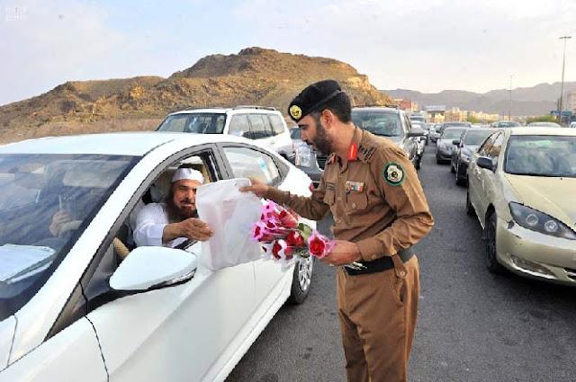 polisi saudi