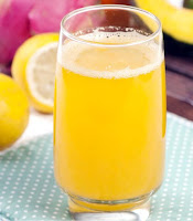 Jus lemon labu kuning