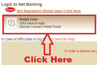 how to check mini statement in bank of baroda online