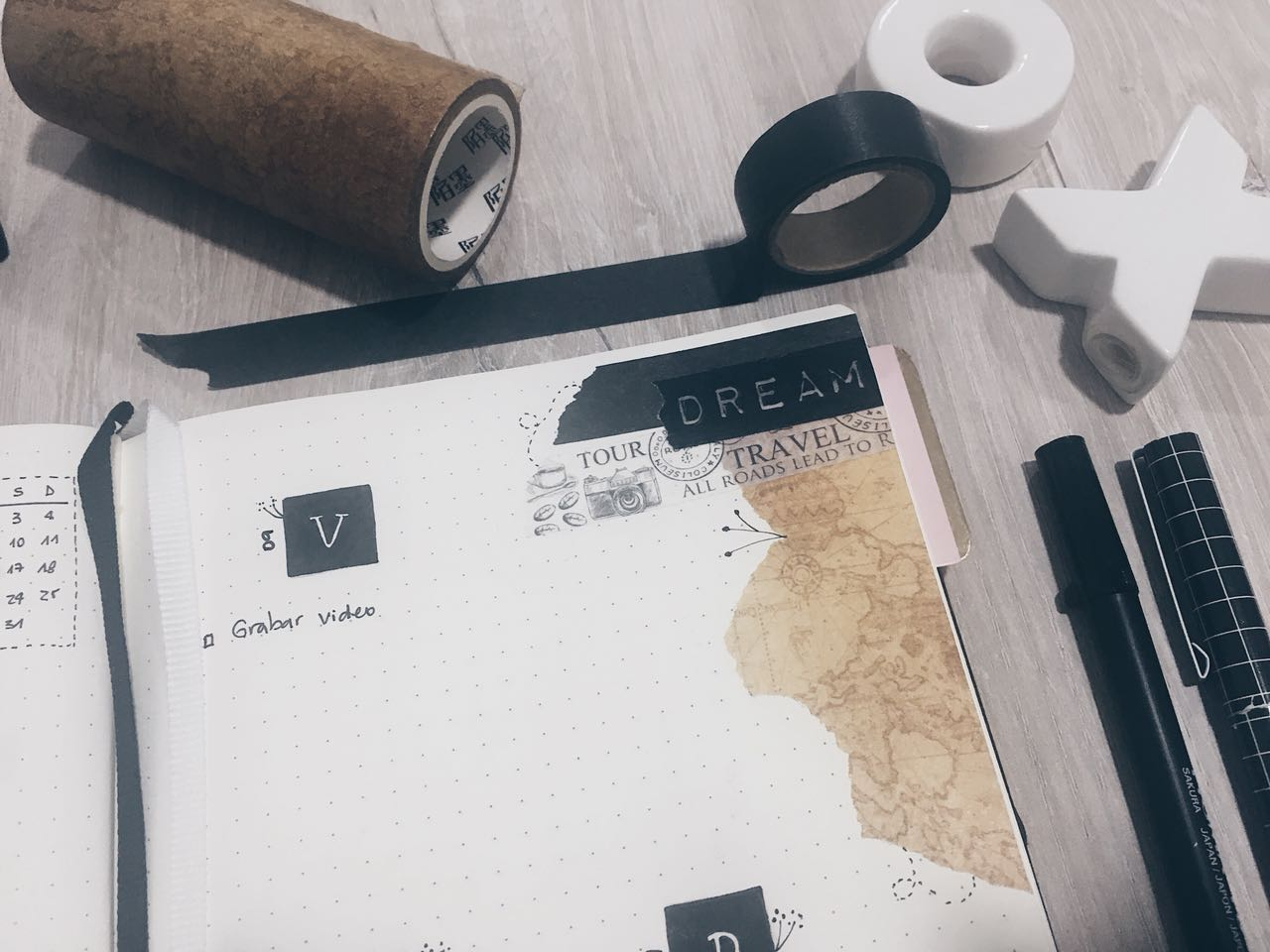 Bulletjournal Conversando Con Anthomonocromo Planner Adictas