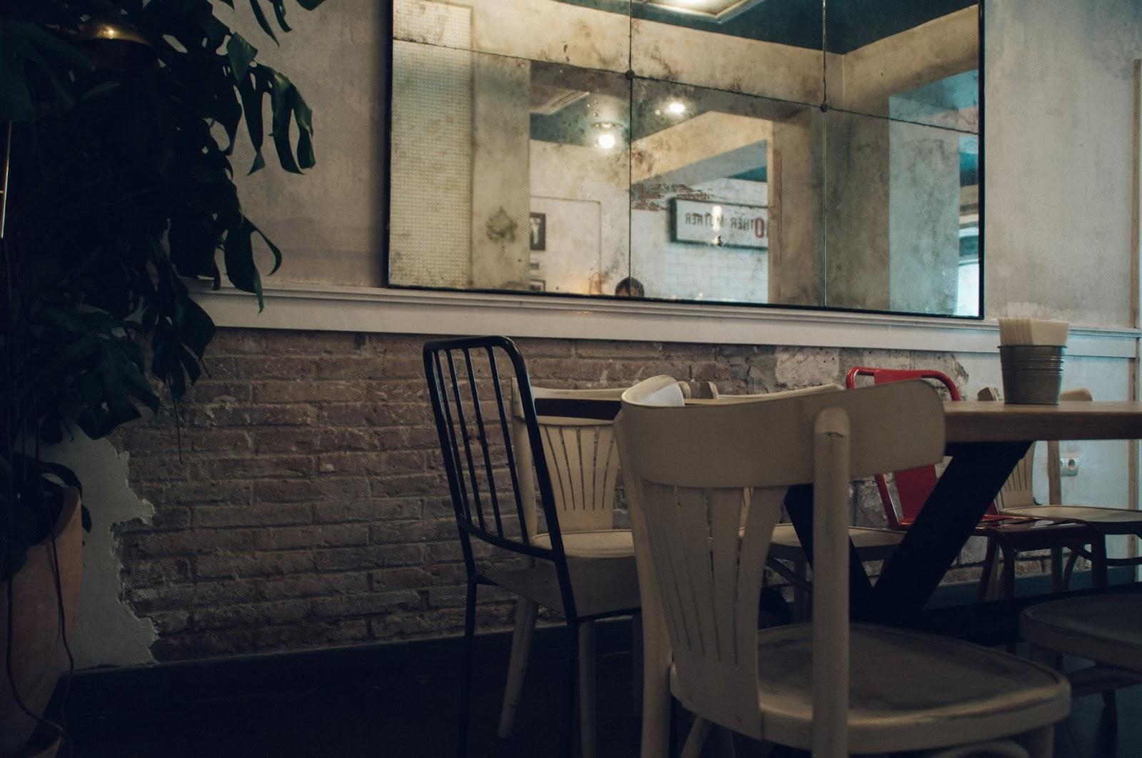 Hamgurguesería Bro Room Barcelona, restaurante