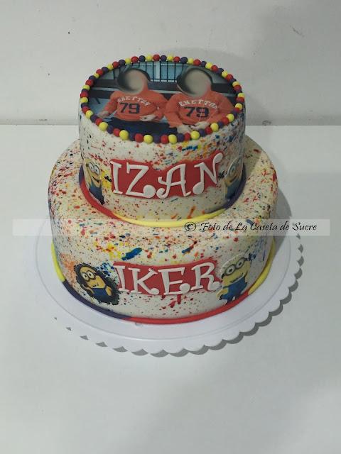 tarta minions cake