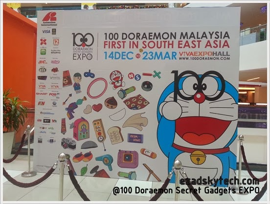 100 Doraemon Secret Gadgets EXPO Di VIVA Home Shopping Mall