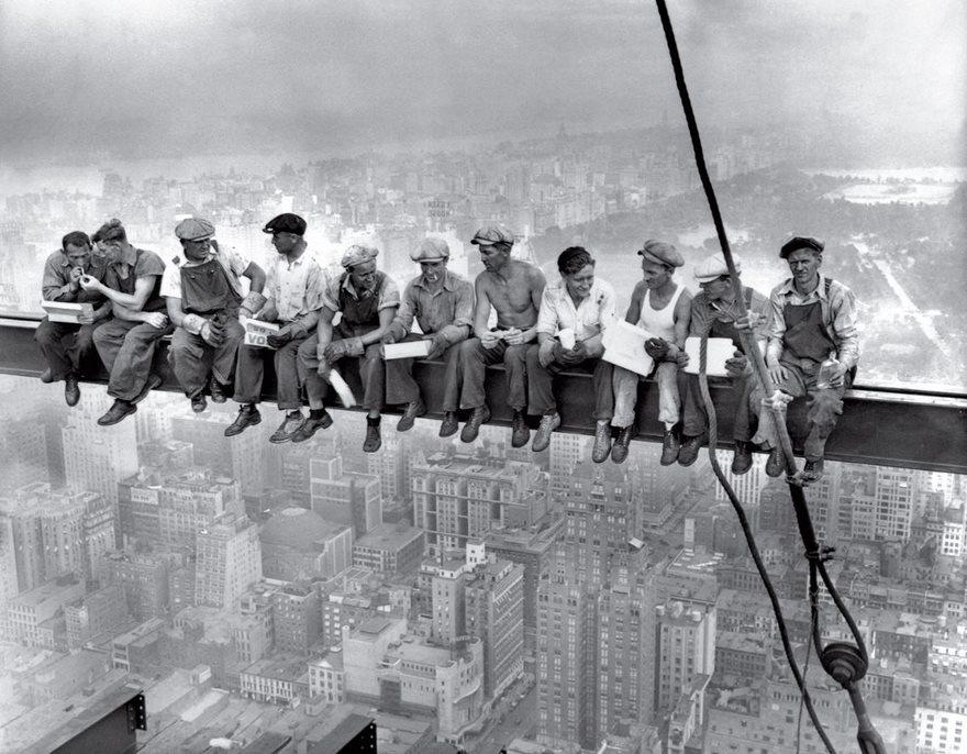Lunch Atop A Skyscraper, 1932