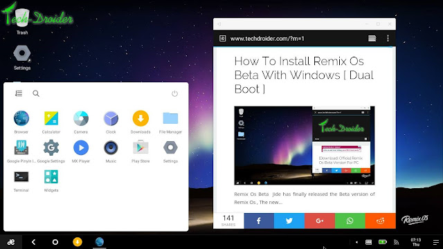 How to enable hidden Google Apps in Remix Os Beta