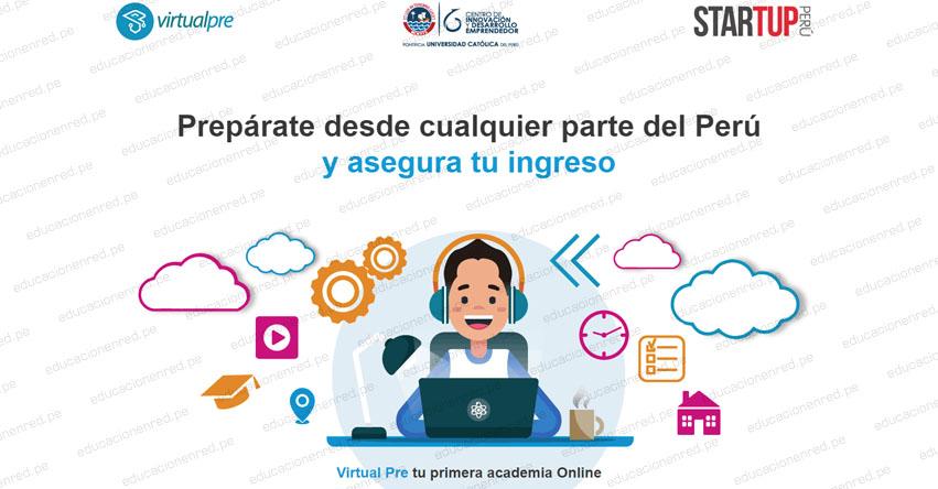 VIRTUAL PRE: Plataforma online de preparación académica para ingresar a la universidad - www.virtualpre.com