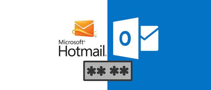 Mudar senha do Hotmail / Outlook