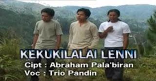 Kord Gitar Lagu Kekukilalai Lenni (Trio Pandin)