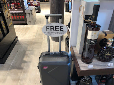 Hardy Cognac Rewards Their Customer With a Promotional Luggage