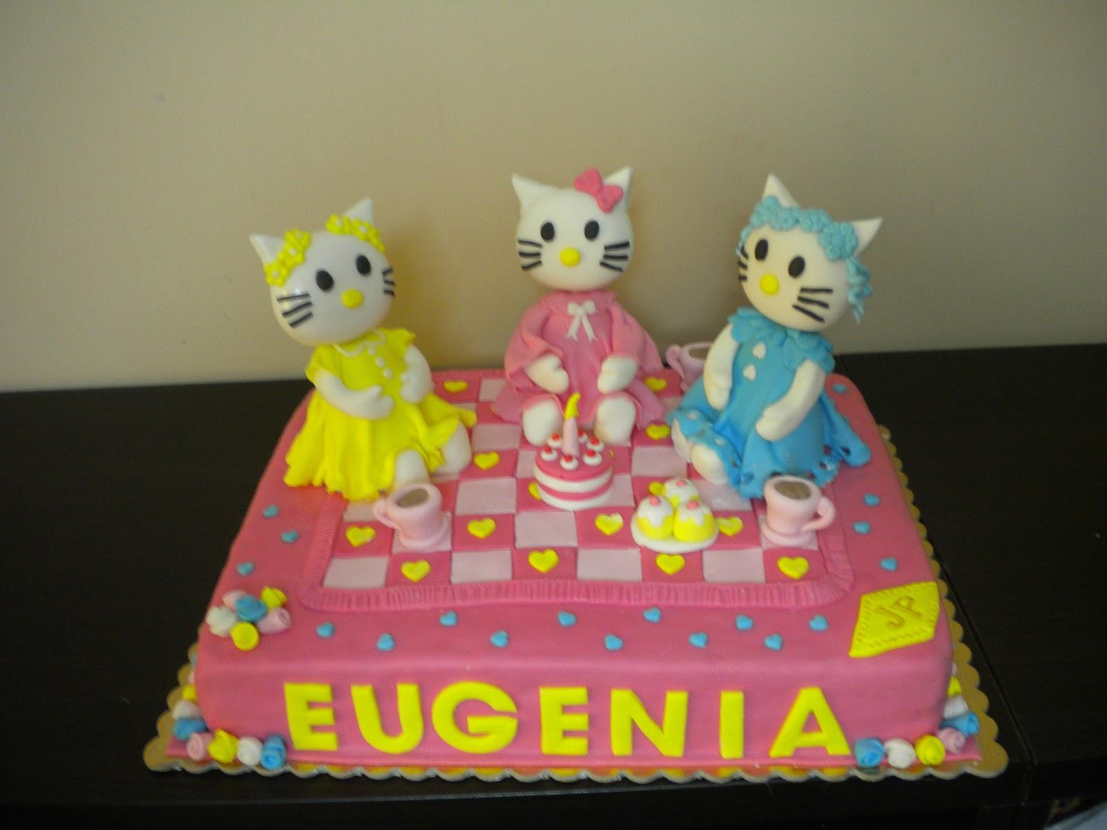 Conosciuto LE TORTE DI PATRICIA: Torta Hello Kitty per la piccola Eugenia NF44