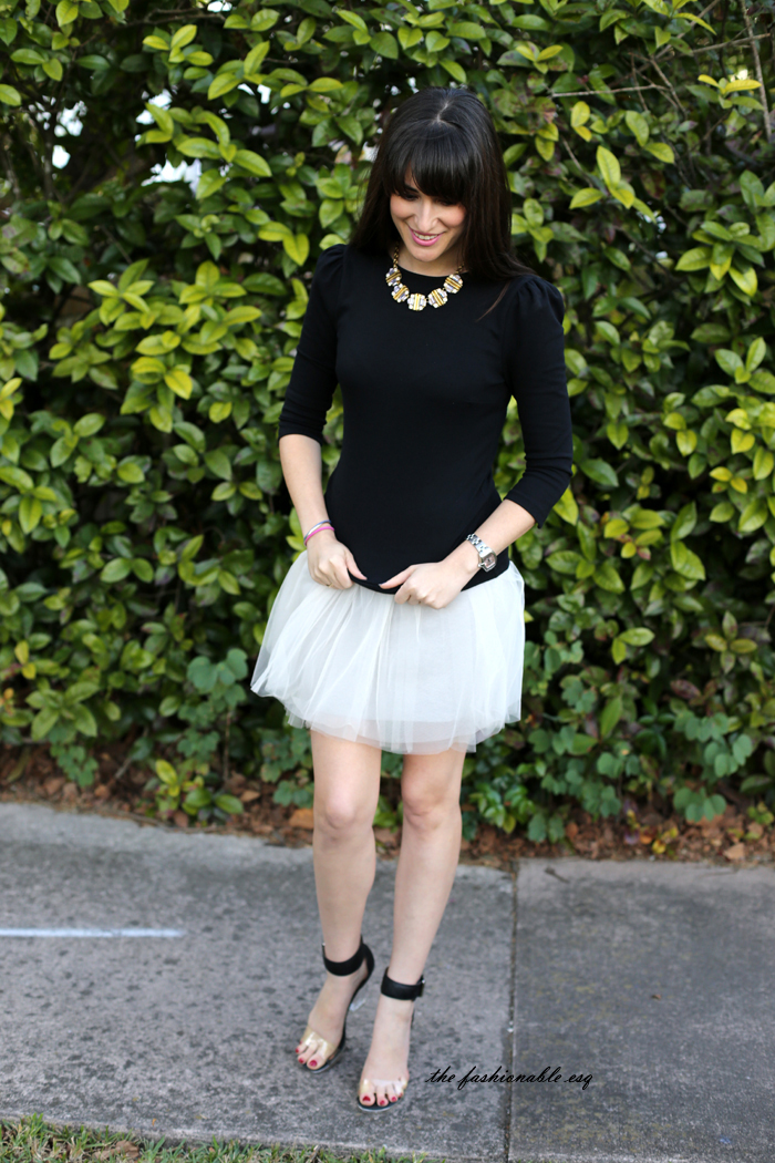 tulle skirt styling