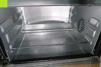 innen: Andrew James – 23 Liter Mini Ofen und Grill mit 2 Kochplatten in Schwarz – 2900 Watt – 2 Jahre Garantie