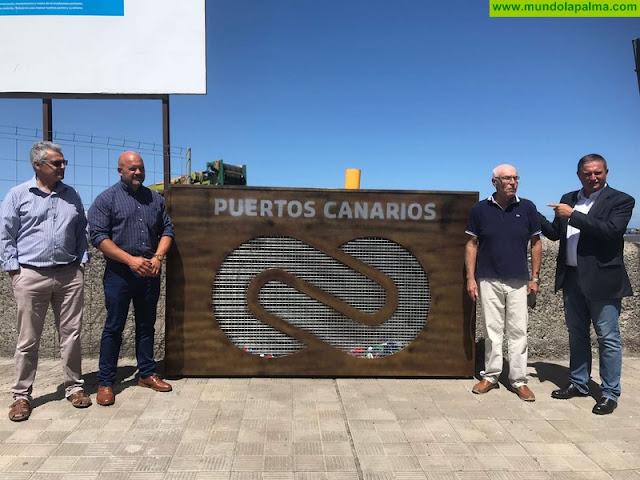 La campaña 'Puertos solidarios' desembarca en la infraestructura portuaria de Tazacorte