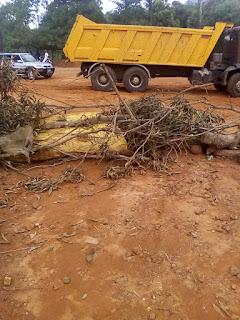 Guinée : Kindia, la carrière de sable de Koliady 2 fermée par des jeunes en colère