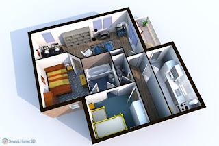 Sweet Home 3D 5.4 Terbaru